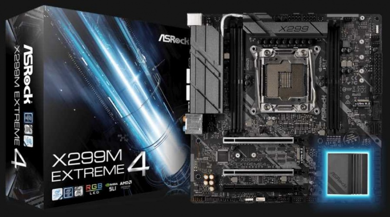 ASRock X299M Extreme 4 Motherboard Review