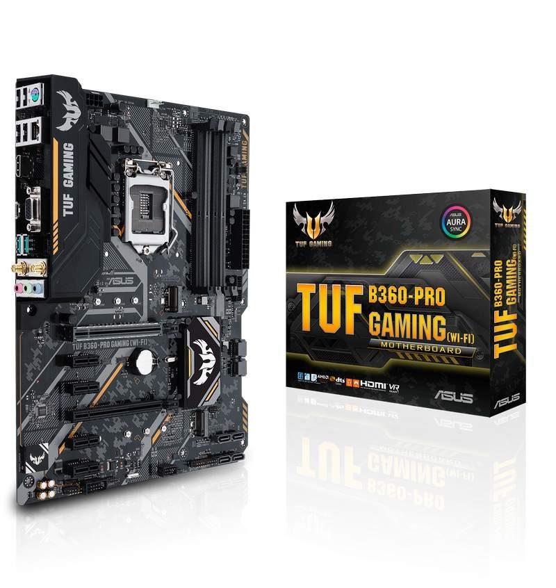 TUF B360 PRO GAMING WI FI with box