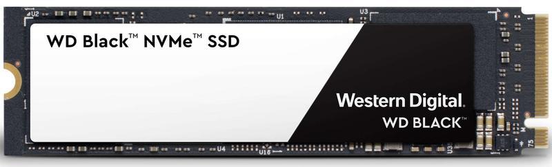 WD Black NVMe 3D SSD