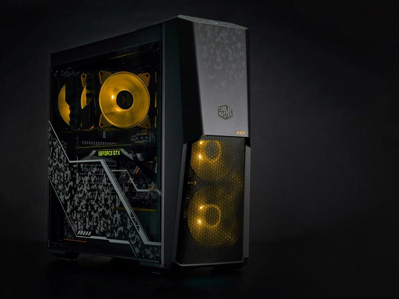Cooler Master Teams Up with ASUS with TUF Gaming Products