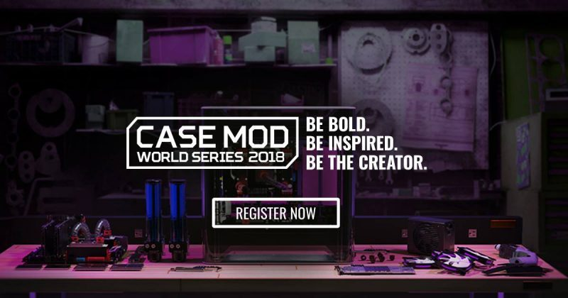 Cooler Master Extends Deadline for Case Mod World Series 2018
