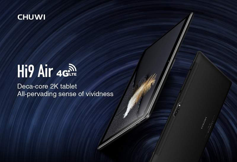 Chuwi Hi9 Air Tablet with WorldMode 4G LTE Now Available