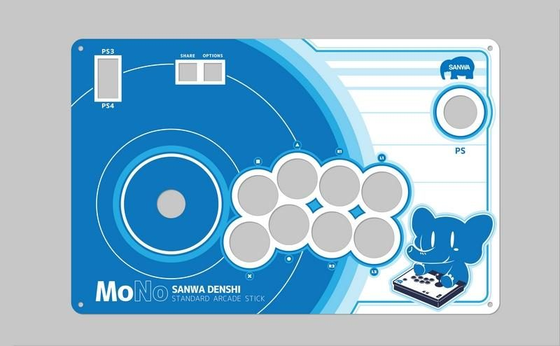 Sanwa Denshi MONO Arcade Stick Now Available for Pre-Order