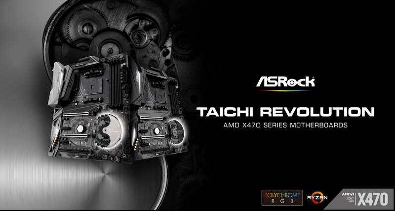ASRock AMD X470 Motherboard Lineup Announced