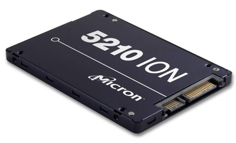 Micron Begins Shipping the 5210 ION–World's First QLC SSD