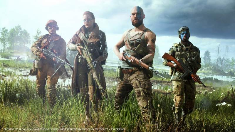 EA Lists Battlefield V PC System Requirements on Origin