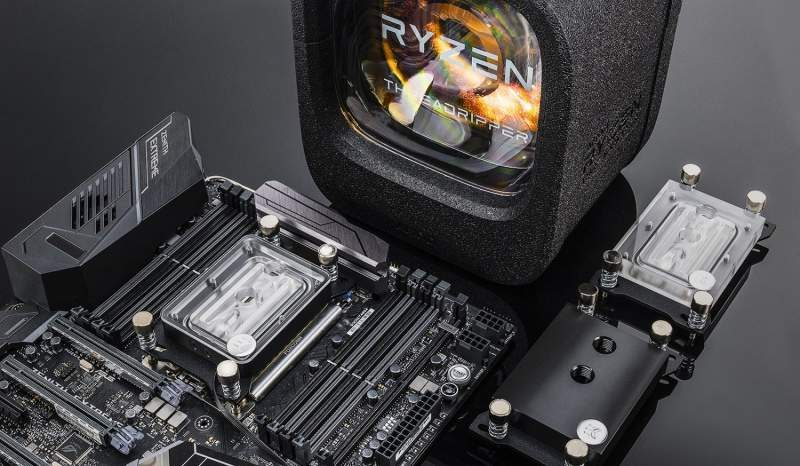 EKWB Debuts Four New AMD Threadripper CPU Water Blocks