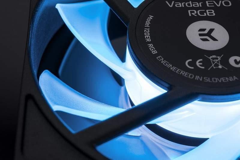 EKWB Announces RGB LED Version of EK-Vardar EVO Fans