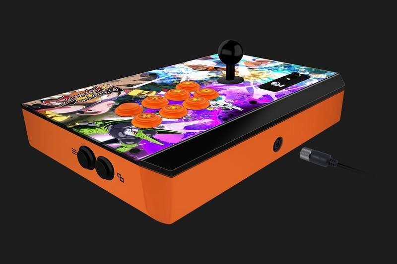 Razer Releases Official Dragon Ball FighterZ Fight Sticks