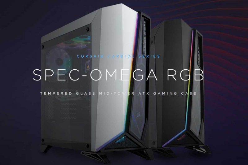 Corsair Carbide Spec-Omega RGB Chassis Review