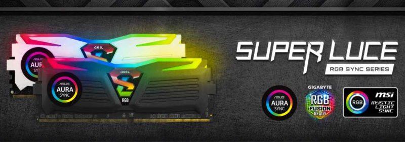 GEIL Super Luce 16GB 3000MHz RGB DDR4 Review