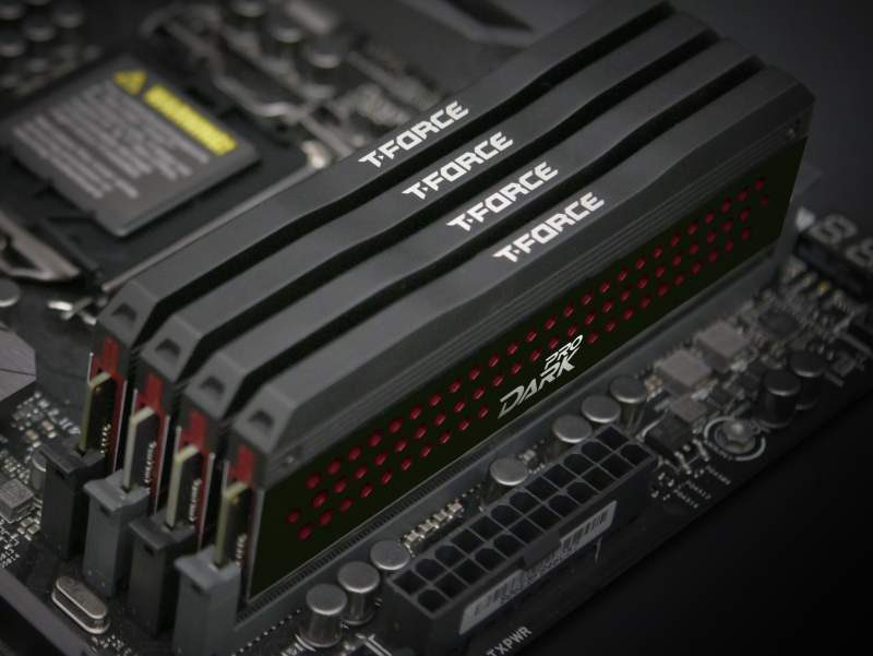 TeamGroup Upgrades T-Force Dark PRO DDR4 Up to 3466MHz