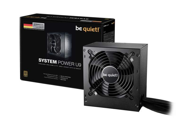 be quiet! Introduces the System Power U9 Power Supply Series