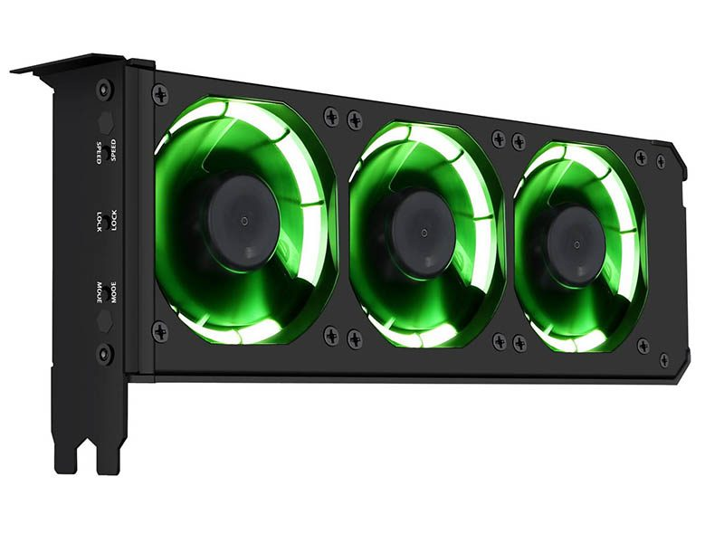Anidees Launches VGA Cooler with 3x80mm RGB Fans