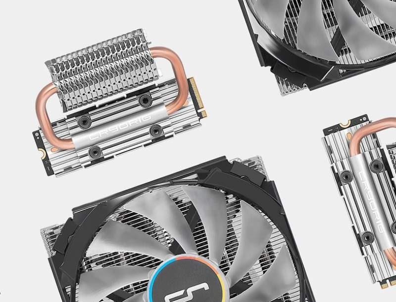 CRYORIG Announces C7 RGB Heatsink and Frostbit M.2 Cooler