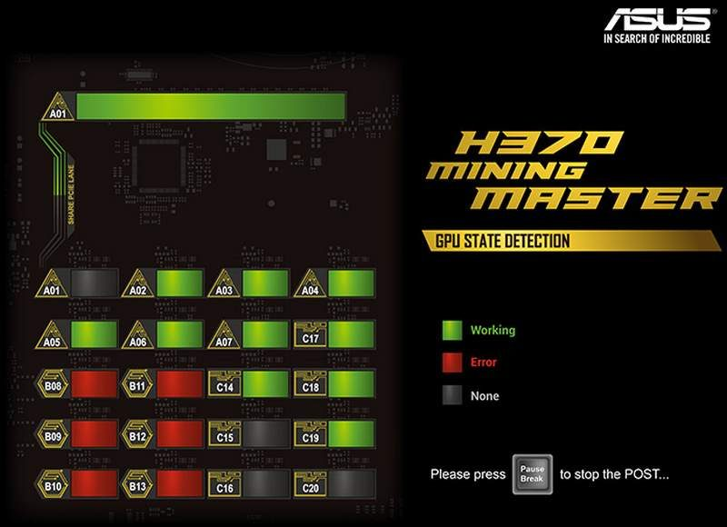 ASUS H370 Mining Master Mobo Packs 20 USB via PCIe Ports