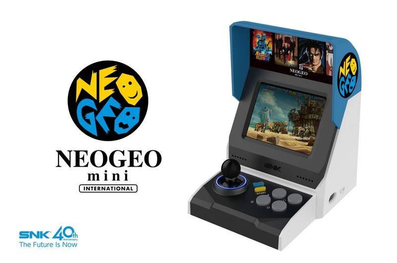SNK Unveils the Neo-Geo Mini Palm-Size Arcade Console