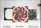 Noctua Launches Next-Gen NF-A12x25 and NF-P12 Redux Fans