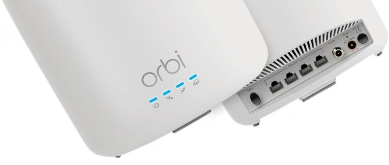 Netgear Debuts Orbi Tri-Band WiFi Cable Modem Router System