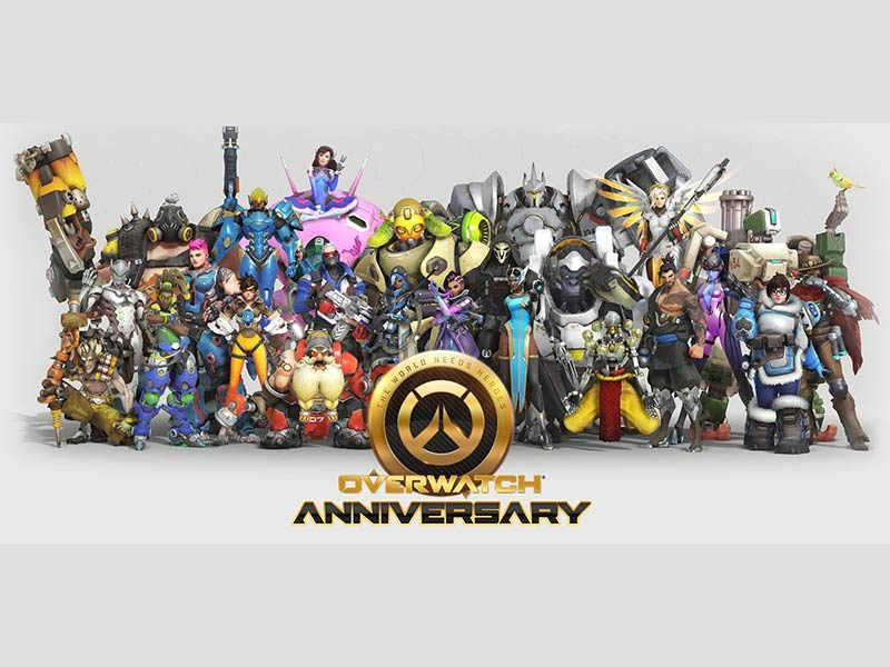 Overwatch 2018 Anniversary Allows Unlocking of All Event Items