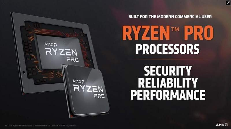 AMD Introduces 7 New Ryzen PRO Desktop and Mobile APUs