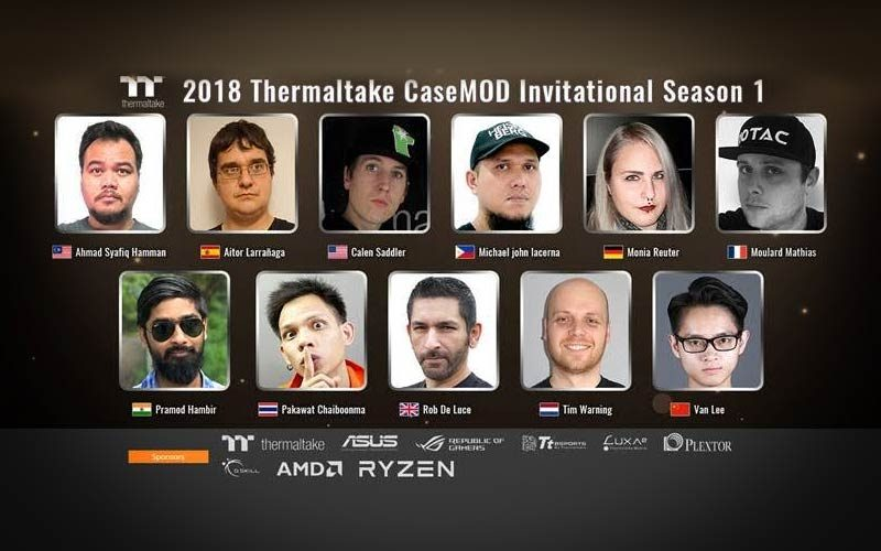 Thermaltake Announces 2018 CaseMod Invitational Season 1