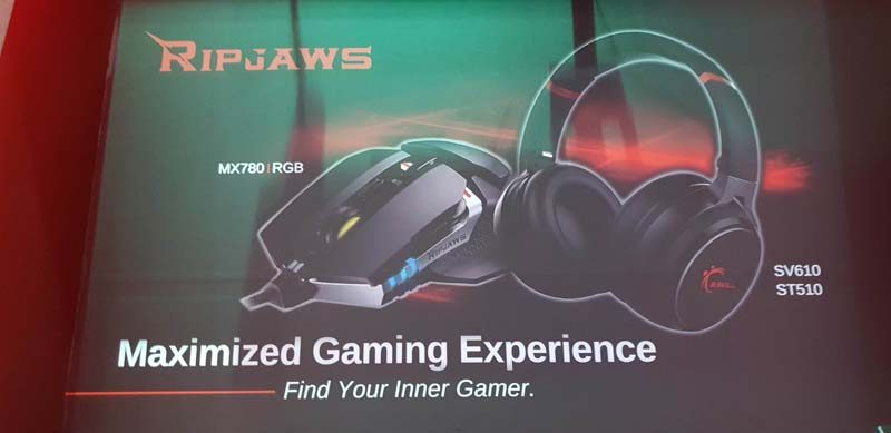 G.Skill Reveal Latest Ripjaws Gaming Peripherals