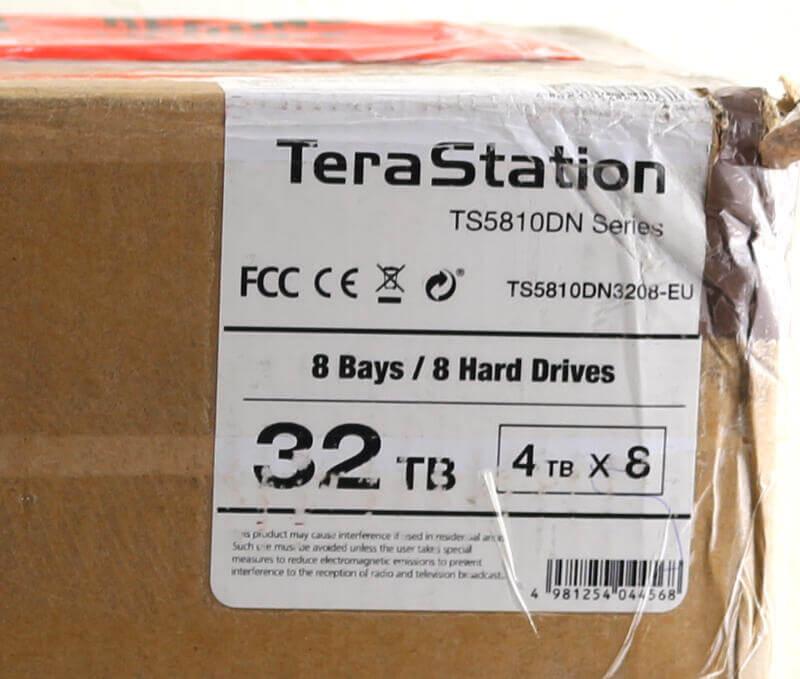 Buffalo TeraStation 5810DN Photo box details