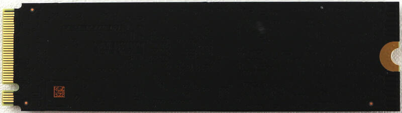 WD Black PCIe M2 1TB Photo view rear
