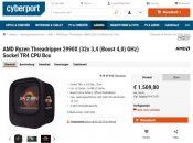 AMD Ryzen Threadripper 2990X CPU Gets Listed for €1509
