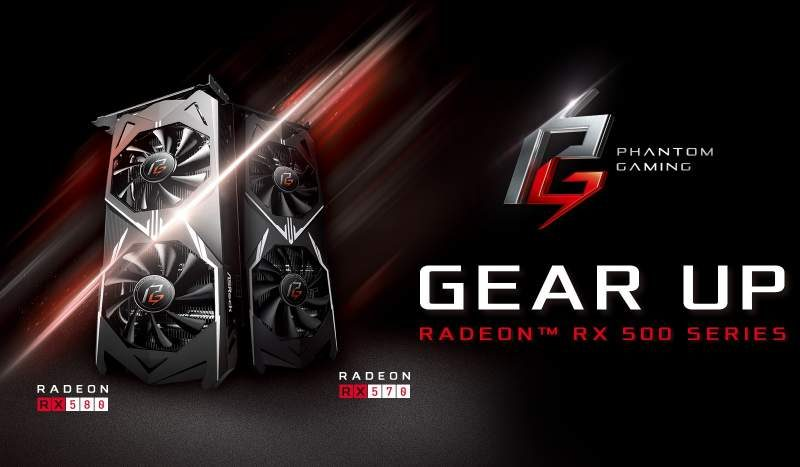 ASRock Phantom Gaming Video Cards Now Available in EU