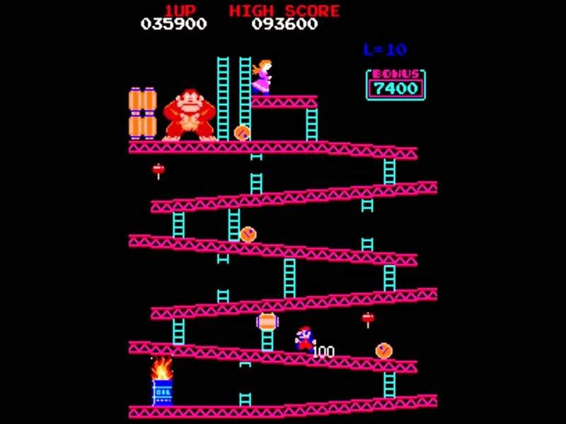 Classic 1981 Donkey Kong Game Now on Nintendo Switch