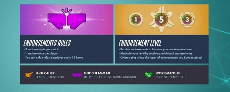 Latest Overwatch Patch Adds Group and Endorsement Features