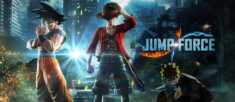 Bandai Namco's Jump Force is Smash Bros. with Anime All-Stars
