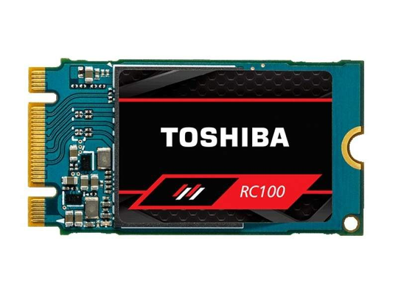 Toshiba's OCZ RC100 Series Budget NVMe SSDs Now Available
