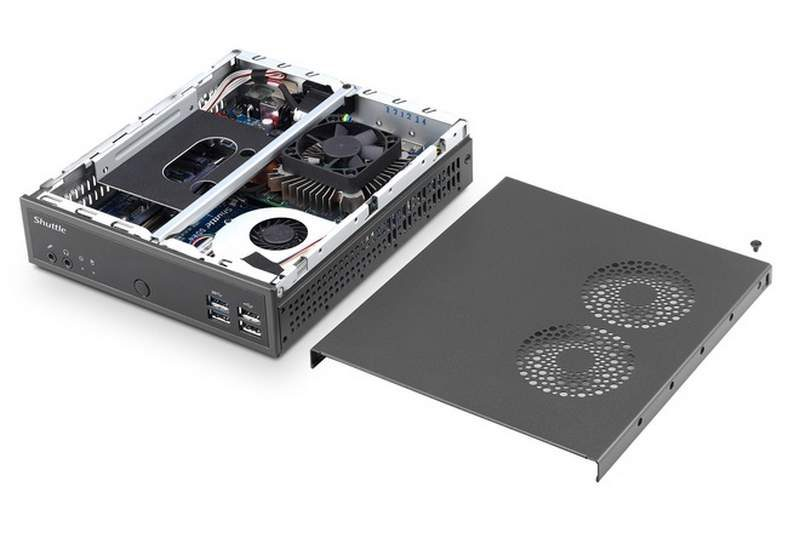 Shuttle Launches 1.3-Litre Mini-PC with GeForce GTX 1050 GPU