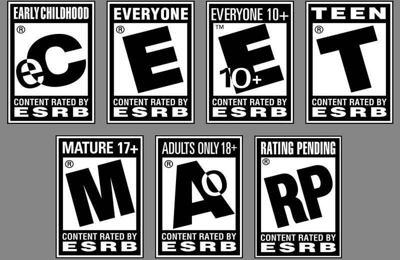 game age ratings