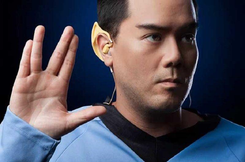 star trek vulcan ear phone earphones
