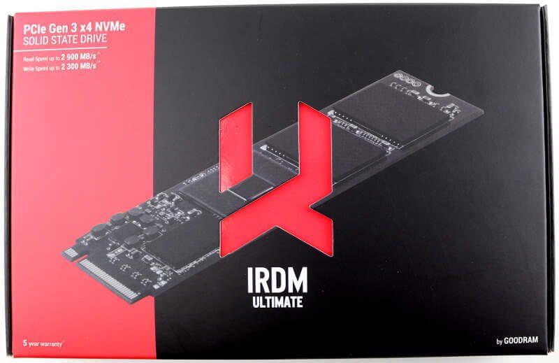 GOODRAM IRDM Ultimate 240GB Photo box top