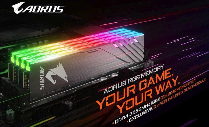AORUS RGB Memory 16GB 3200MHz DDR4 Review