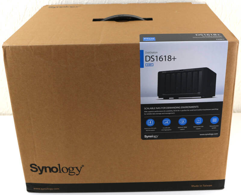 Synology DS1618p Photo box