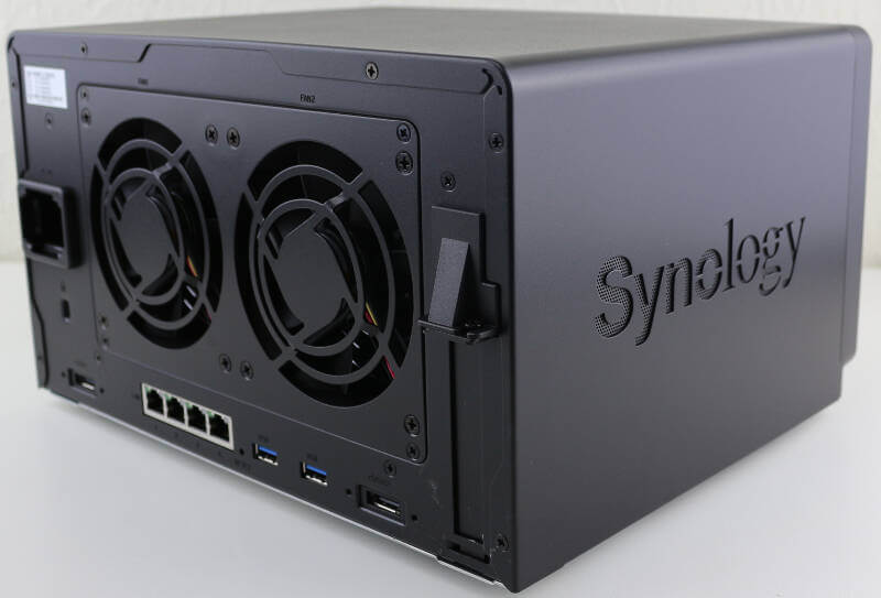 Synology DS1618p Photo view rear angle 2