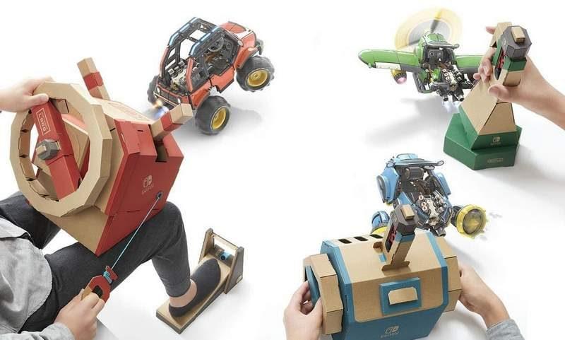 Nintendo Launching Labo Vehicle Kit on September 14