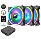 Thermaltake's Riing 12 Trio RGB LED Fan Has Alexa Support