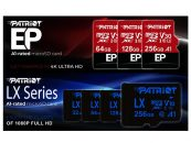 Patriot Debuts EP and LX Series A1-Rated microSD Cards
