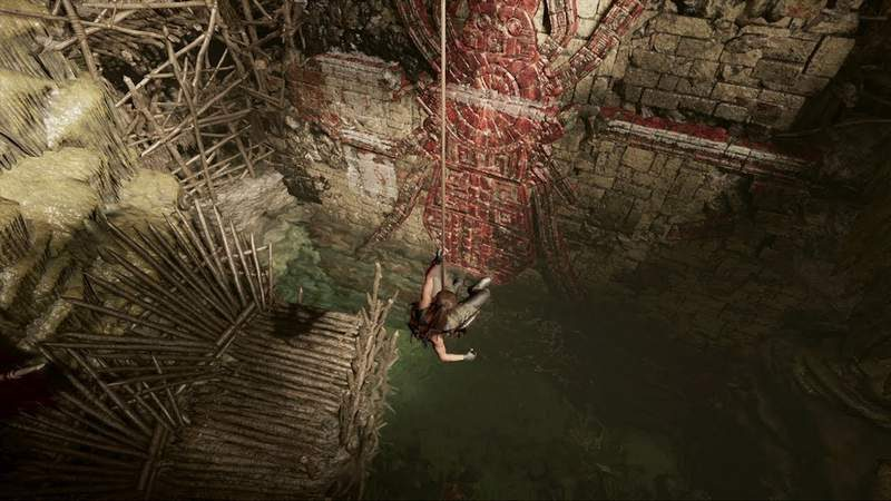 Square Enix Shows Off New Tomb Raider Climbing Mechanics