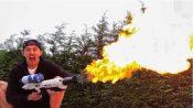 flamethrower boring company elon musk