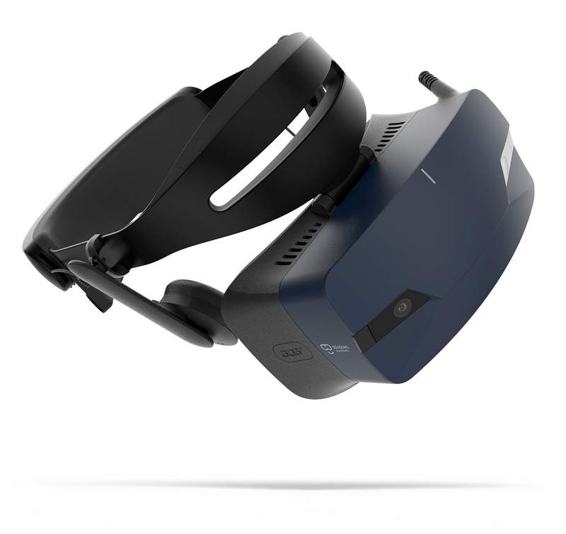 Acer Debuts the Acer OJO 500 Windows Mixed Reality Headset