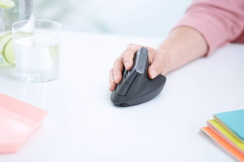 Logitech Releases Ergonomically Convenient MX Vertical Mouse