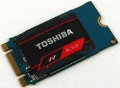 Toshiba OCZ RC100 240GB Photo view top angle